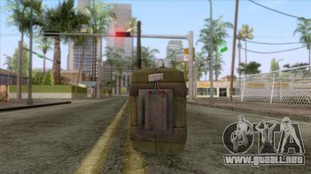New Remote Explosives para GTA San Andreas