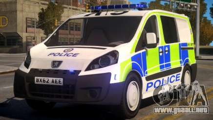 Police Peugeot Expert Cell Van para GTA 4