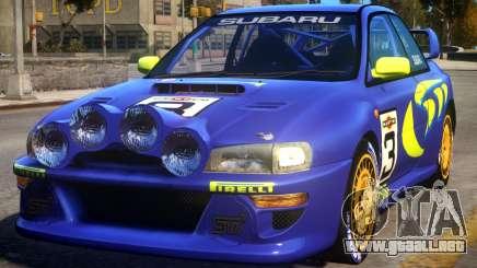 1998 Subaru Impreza WRC - PURPLE para GTA 4