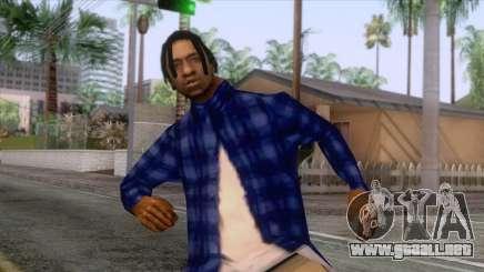 Crips & Bloods Fam Skin 2 para GTA San Andreas