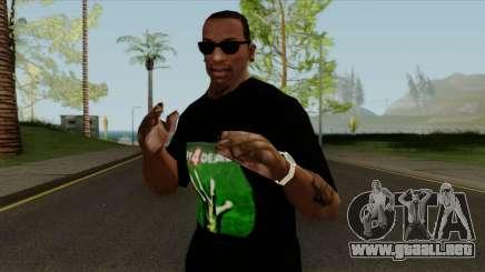 T-Shirt De Left 4 Dead para GTA San Andreas