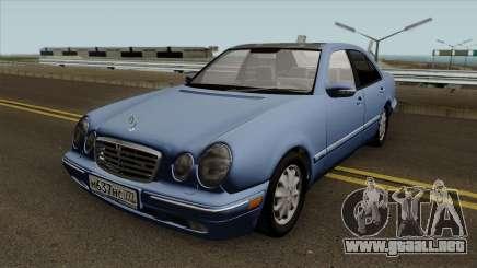 Mercedes-Benz E-Klasse W210 E420 Avantgarde 1999 para GTA San Andreas