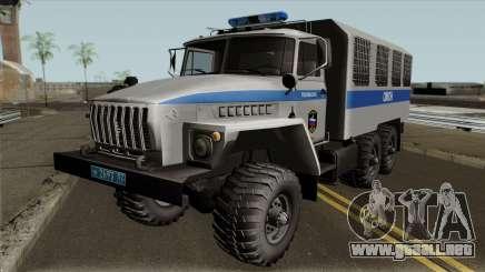 Ural 4320 De Las Fuerzas Especiales para GTA San Andreas
