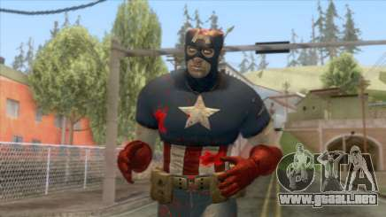 Marvel Zombies - Coronel America para GTA San Andreas
