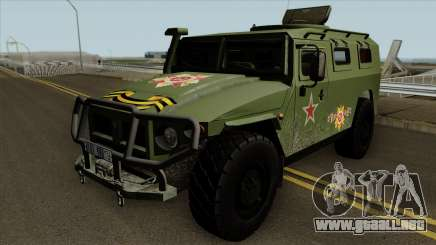 GAZ 2330 para GTA San Andreas