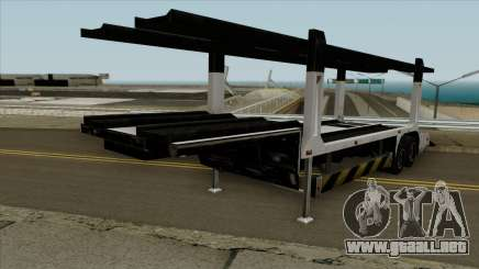 Remolque portacoches para GTA San Andreas