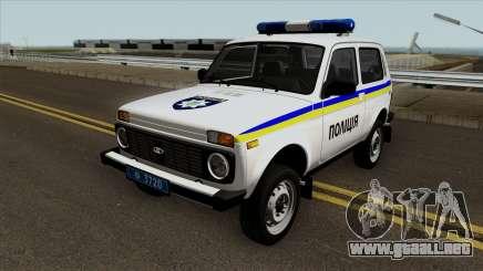 VAZ 2121 de la Policía de Ucrania para GTA San Andreas