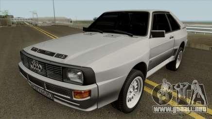 Audi Sport Quattro 1983 para GTA San Andreas