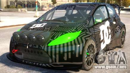 Ford Fiesta Rallycross (DiRT3) V.1.2 para GTA 4