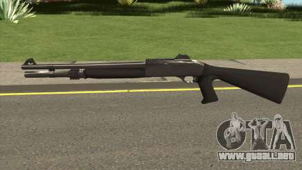 Shotgun Grey Chrome para GTA San Andreas
