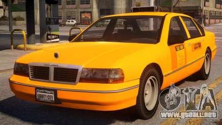 Declasse Premier Taxi V1.1 para GTA 4