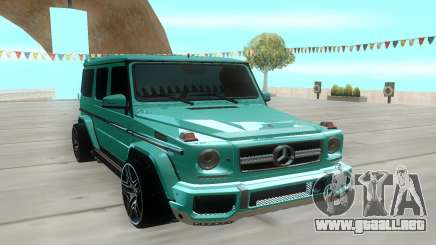 Mercedes-Benz G-class AMG para GTA San Andreas