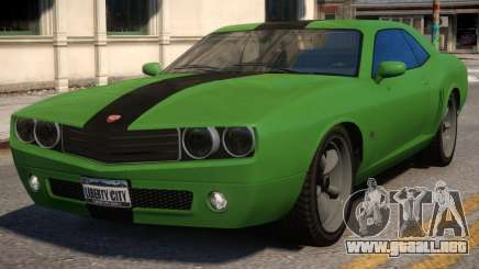 Bravado Gauntlet Muscle Car Rims para GTA 4