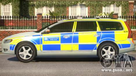 Volvo V70 Normal para GTA 4 left