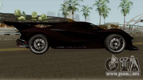 Apollo Intensa Emozione 2018 para GTA San Andreas