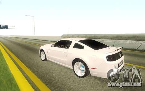 Ford Mustang Shelby GT500 Stock para GTA San Andreas
