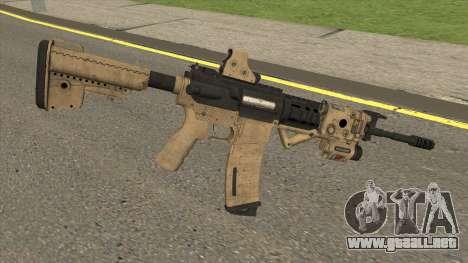 Tactical M4 para GTA San Andreas