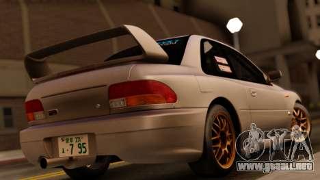 Subaru Impreza WRX STI GC8 1999 para GTA San Andreas