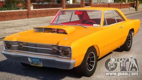 1968 Dodge Dart V1.3 para GTA 4