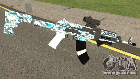 Gunrunning Assault Rifle Mk2 para GTA San Andreas segunda pantalla