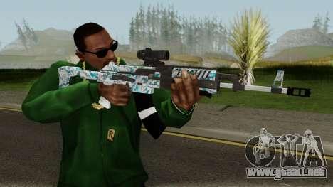 Gunrunning Assault Rifle Mk2 para GTA San Andreas tercera pantalla