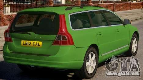 Volvo V70 Civilian Version para GTA 4