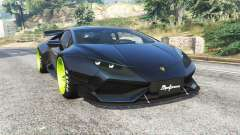 Lamborghini Huracan LibertyWalk v1.2 [replace] para GTA 5