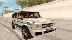 Mercedes-Benz G63 AMG Rus Plate para GTA San Andreas