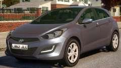 Hyundai i30 Civ para GTA 4