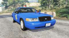 Ford Crown Victoria Police CVPI v2.0 [replace] para GTA 5