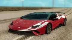 Lamborghini Huracan Perfomante Spyder para GTA San Andreas