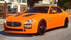 Maserati Quattroporte Sport GTS Tuned para GTA 4