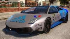 Lamborghini GT3 CUP Addidas Team para GTA 4