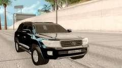 Toyota Land Cruiser 200 DARK para GTA San Andreas