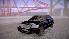 Mercedes-Benz S600 W140 Stock para GTA San Andreas