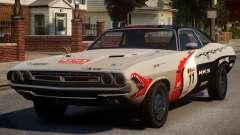 Dodge Challenger 1971 PJ9 para GTA 4