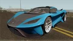 Overflod Tyrant GTA V IVF para GTA San Andreas