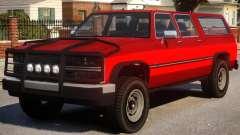 Yosemite SUV Versions para GTA 4