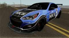 Hyundai Genesis Coupe HKS para GTA San Andreas