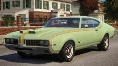 1969 Oldsmobile Cutlass Hurst 442 para GTA 4