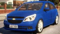 Chevrolet Agile LTZ para GTA 4