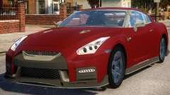 Nissan GTR Nismo 2017 para GTA 4