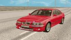 El BMW M5 E39 para GTA San Andreas