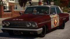 Ford Fairlane 1964 Fire para GTA 4