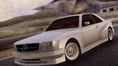 Mercedes-Benz C126 560SEC para GTA San Andreas