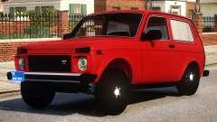 Niva Dubai Style Black Wheel para GTA 4