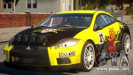 Mitsubishi Eclipse GT Drift para GTA 4