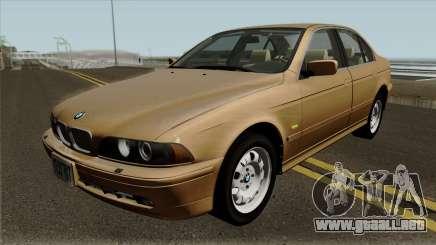 BMW 5-Series e39 525i 2001 (US-Spec) para GTA San Andreas