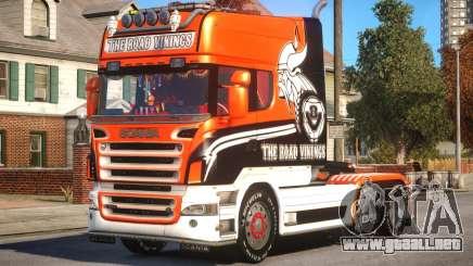 Scania R580 Longline Custom PJ17 para GTA 4