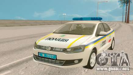 Volkswagen Polo (Ucrania) para GTA San Andreas